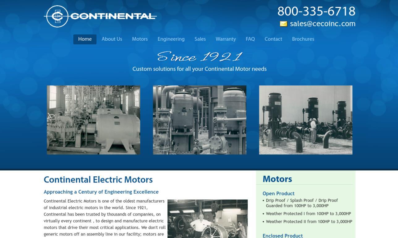Continental Electric Motors, Inc.