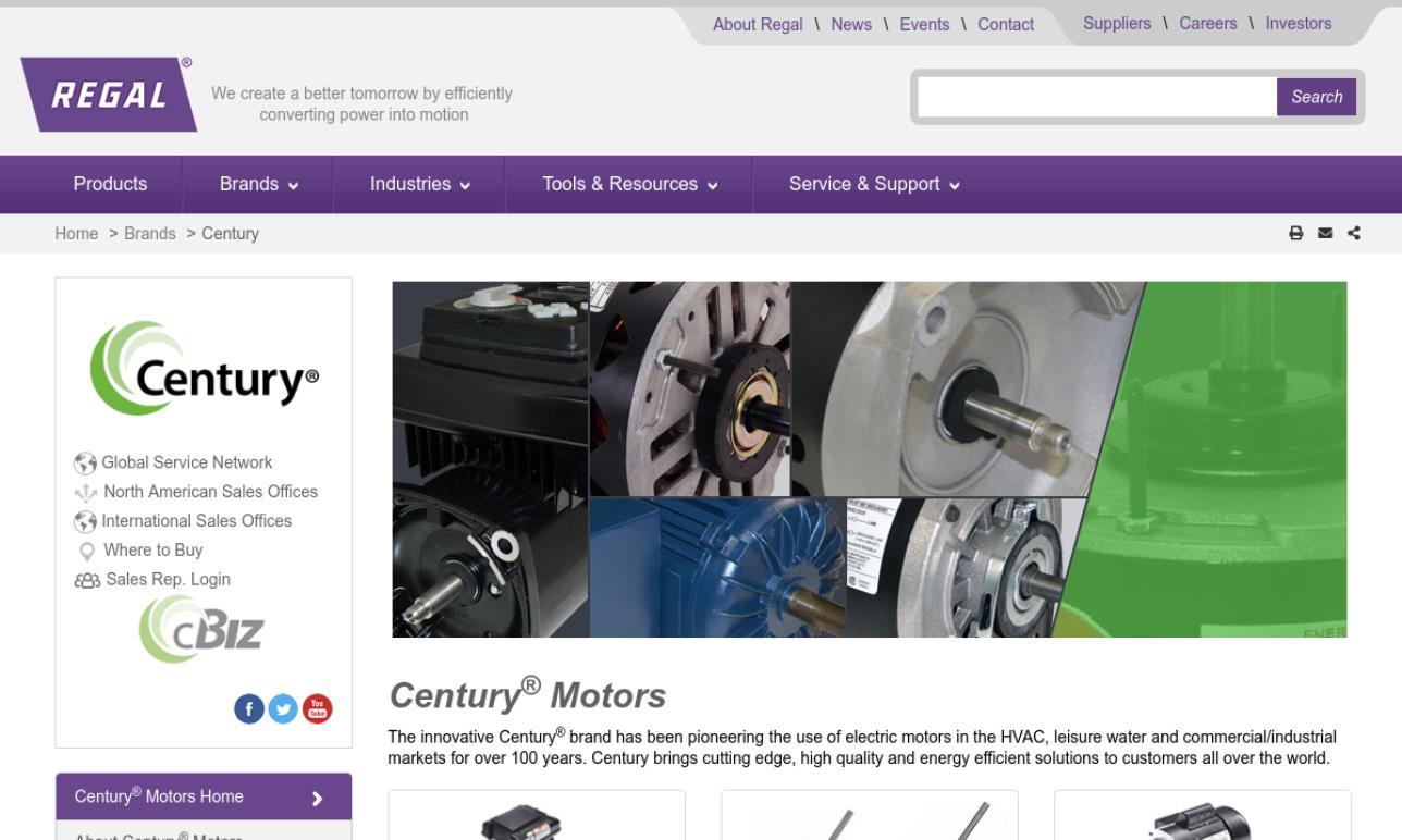 Century Electric Motors