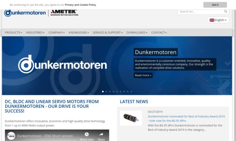 Dunkermotoren USA, Inc.