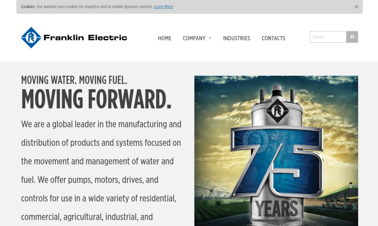 Franklin Electric Co., Inc.