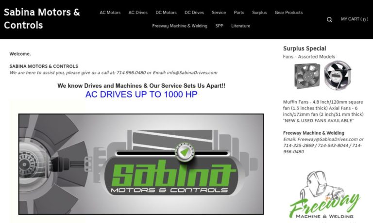 Sabina Motors & Controls, Inc.