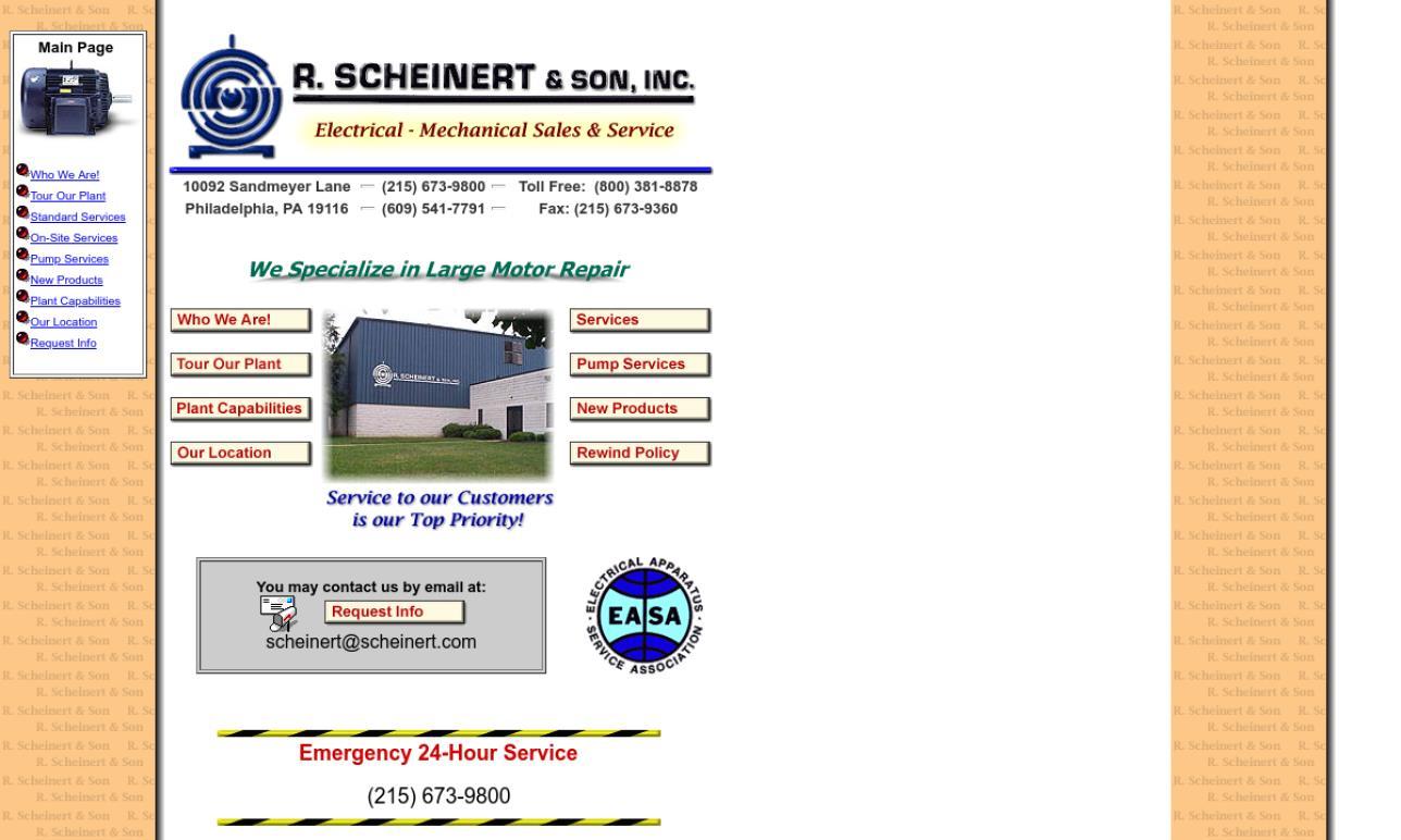R. Scheinert & Son, Inc.