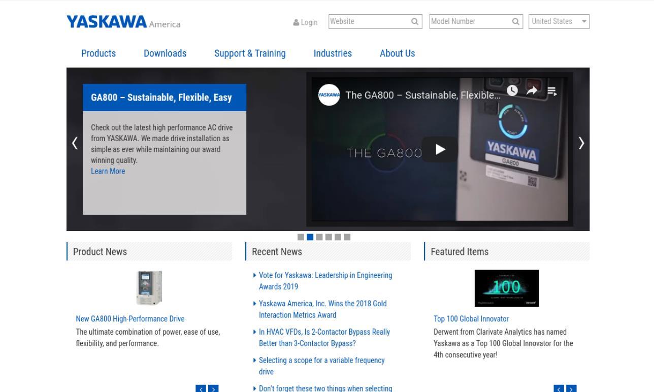 Yaskawa America, Inc - Drives & Motion Division