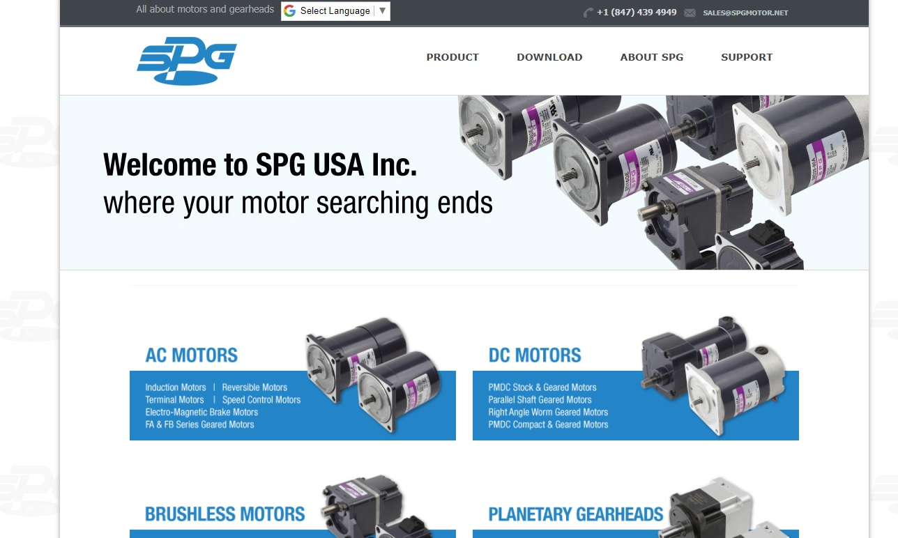 SPG USA Inc.